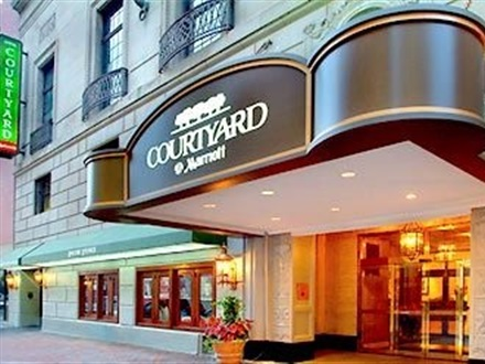 Courtyard By Marriott Downtown  Boston