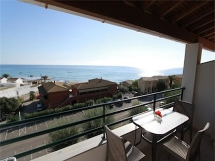 Imagine principala Menigos Type Aa5 Nr.136 Sea View 1 Bedroom Apt.  Glyfada Corfu