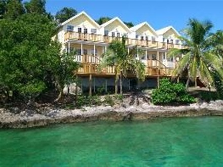 Imagine principala Bluff House Beach Green Turtle Cay  Bahamas Out Island