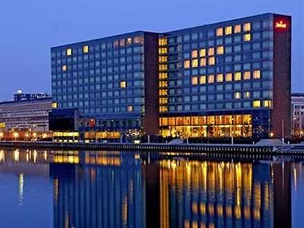 Copenhagen Marriott Hotel Deluxe City View  Copenhaga