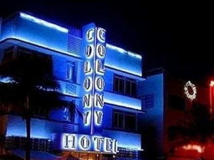Colony Hotel Ocean Drive Miami Beach Fl