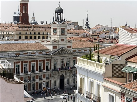 Book at b b hotel puerta del sol madrid community of for Hotel puerta de sol
