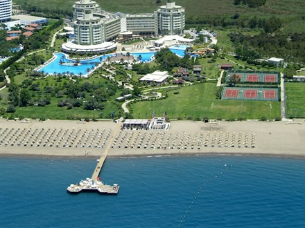 Imagine principala Delphin Be Grand Resort ex. Delphin Botanik Exclusive Resort Lara   Lara Antalya