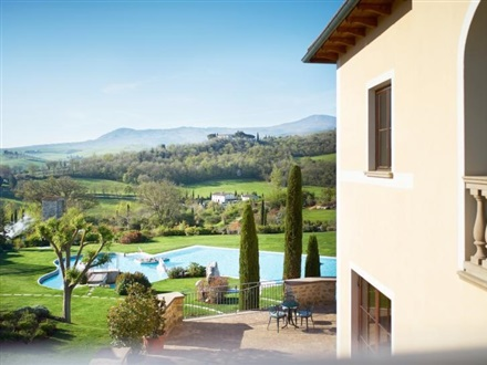 Adler thermae spa resort bagno vignoni regiunea toscana italia - Bagno vignoni adler ...