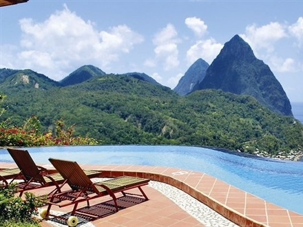 Imagine principala La Haut Resort  Soufriere