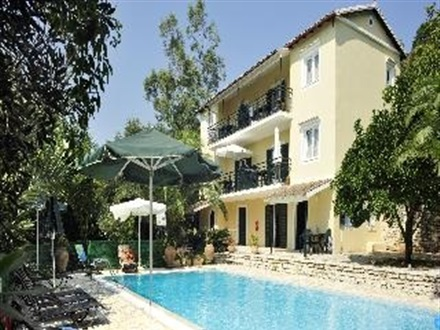 Main image Hotel Damianos Apartments  Aghios Stefanos Corfu
