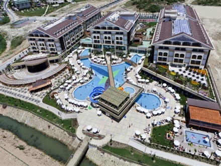 Hotel Crystal Palace Luxury Resort And Spa  Side