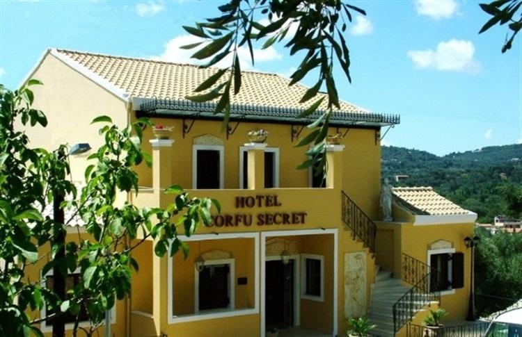 Corfu secret boutique hotel ipsos insula corfu grecia for Secret boutique hotels