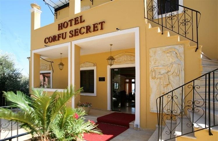 Corfu Secret Boutique Hotel Ipsos