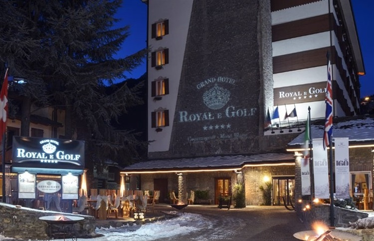 Courmayeur Grand Hotel Royal E Golf