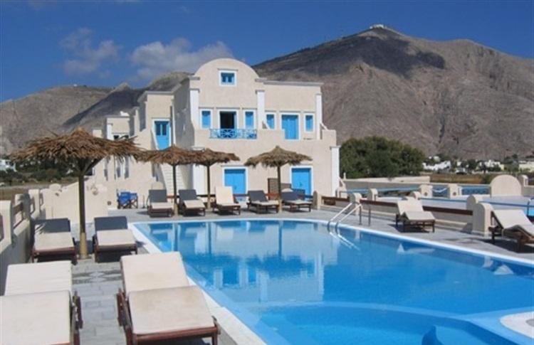Blue Diamond Bay Santorini Greece