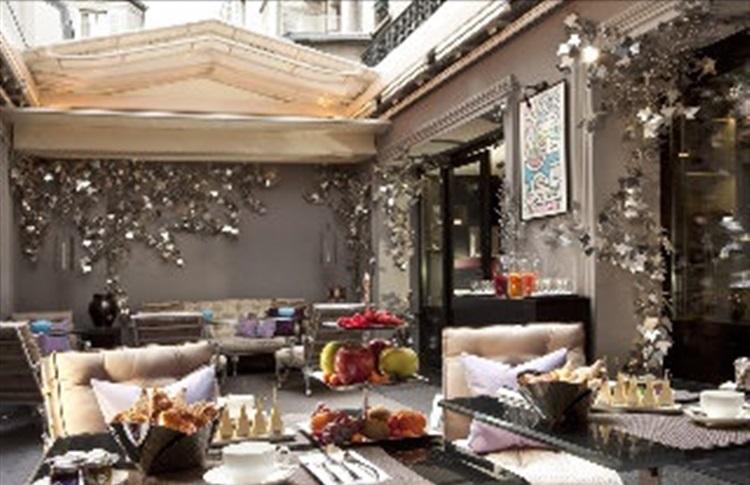 Hotel jardins de la villa spa slh paris regiunea paris for Hotel jardins de la villa paris